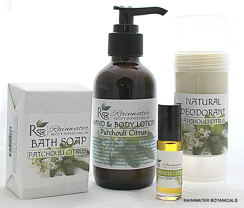 Patchouli Citrus Products