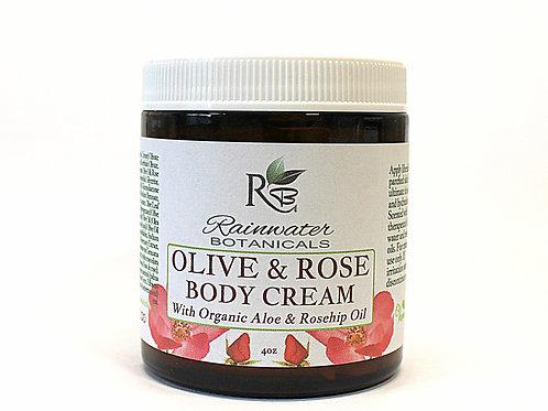 Olive & Rose Body Cream
