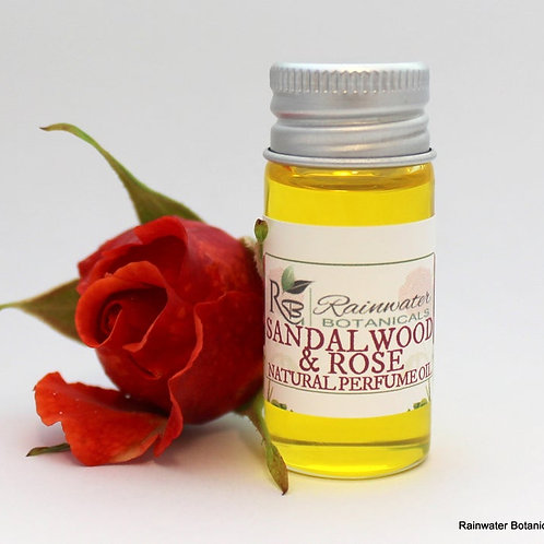 Sandalwood & Rose Natural Perfume Oil