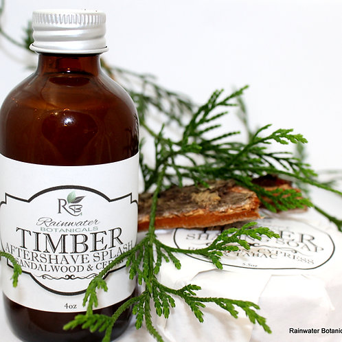 Timber Natural After Shave