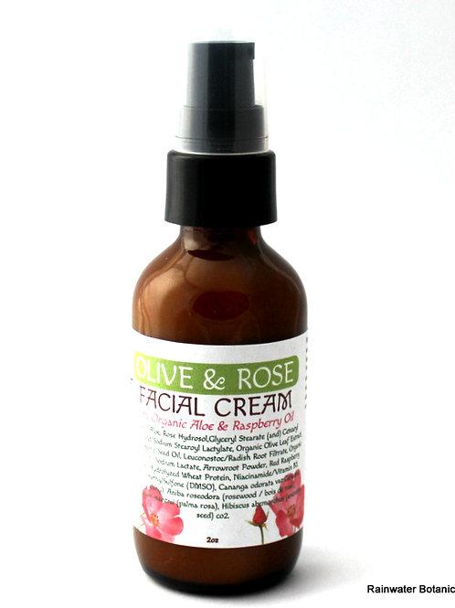 Olive & Rose Facial Cream