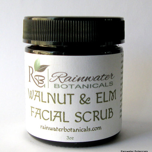 Walnut and Elm Facial Scrub and Mask