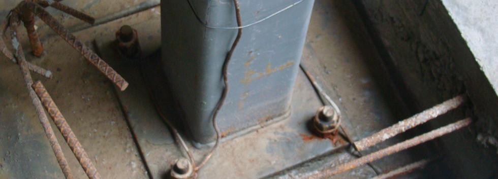 Steel/Concrete Footings