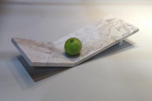 Fruteira moderna em mármore branco Paraná