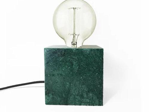 Luminária de mármore verde alpi