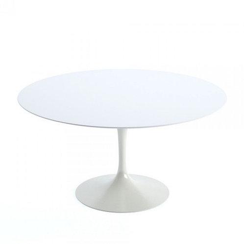 Mesa Saarinen Oval - Branco Artico Premium