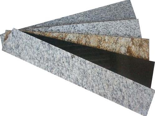 Soleira de Granito - Cor Cinza - 80 x 15