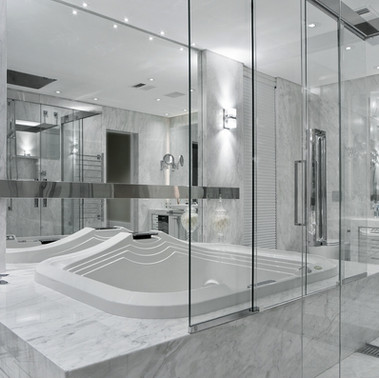 Banheiros.