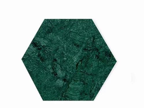 Tábua de mármore verde Alpi