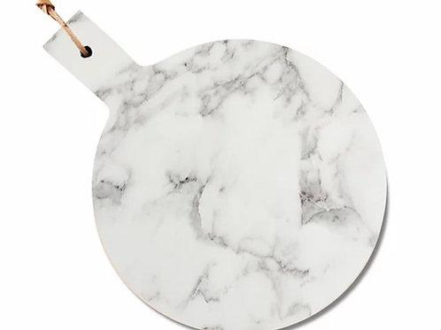 tábua de mármore redonda