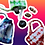 Thumbnail: Tie Dye Crystal Bag