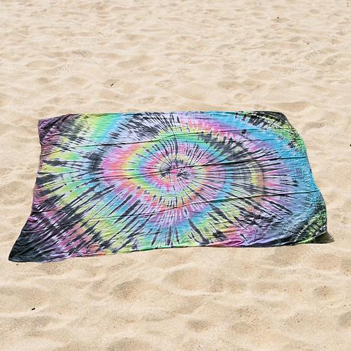Mystical Rainbow Tie Dye Sarong