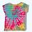 Thumbnail: Girl's XS Mystical Rainbow Striped Tie Dye Shirt Upcycle