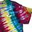 Thumbnail: Adult Medium Alien Mystical Rainbow Beam Tie Dye Shirt