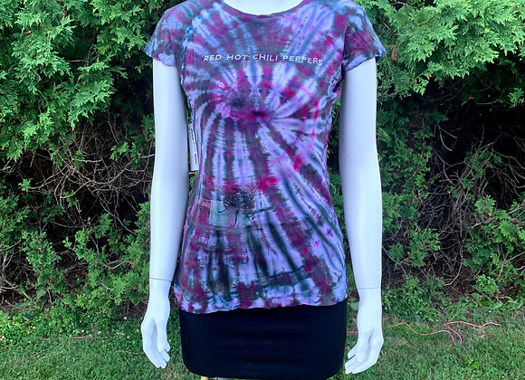 Women's Small Red Hot Chili Peppers Tie Dye Shirt Epicycle