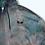 Thumbnail: Adult 3X Alien Encounter Tie Dye Zip-up Hoodie