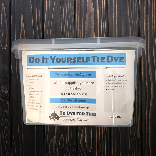 Do It Yourself Tie Dye Kit