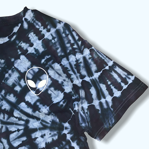 Adult Large Alien Tie Dye Shirt