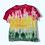 Thumbnail: Kid's Small Rasta Park Tie Dye Shirt Upcycle