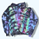 Thumbnail: Adult SmallAlien Rainbow Body Tie Dye Pullover Hoodie
