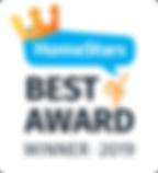 Homestars Best of Awards Winner 2019