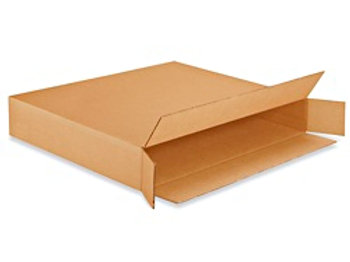 "30 x 5 x 24"" 200 lb. FOL Side Loading Corrugated Boxes"