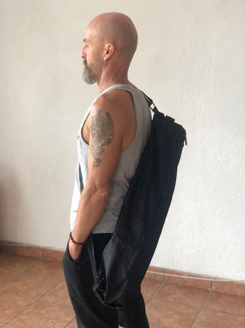 Bolsa para Tapete con cierres negra