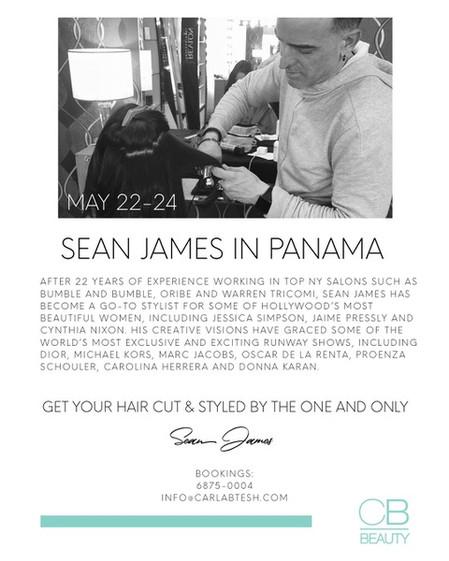 Sean James in Panama