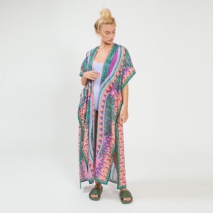 Garzas Long Kimono