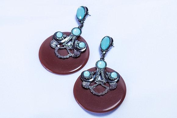 Sundrop multi-stone earrings