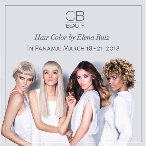 Hair color Elena Ruíz in Panama