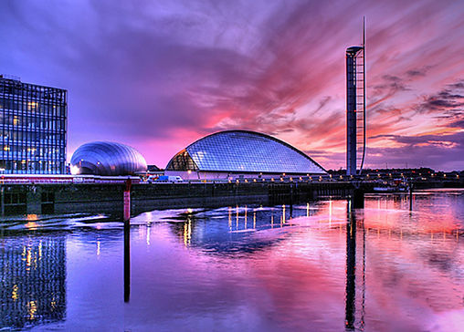 Glasgow Science Centre; SSE Hydro