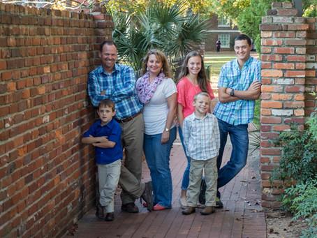 Edwards Family at the Horseshoe