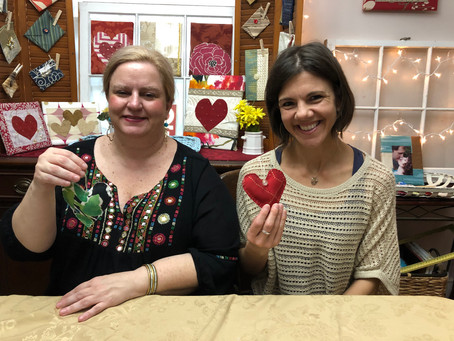 2019 Hearts & Flowers Crafty Tea Event