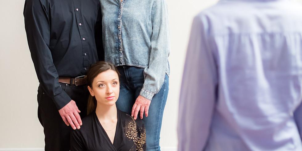 Familienaufstellung mit Fabrice und Hedda Janssen