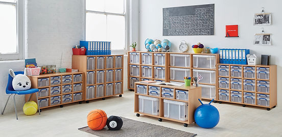 Multifunctional Space and Storage Areas.