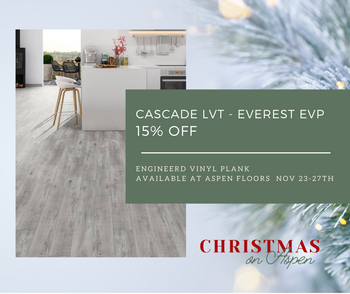 15% Cascade Luvury Vinyl Tile