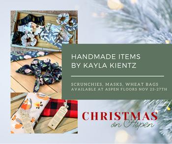 Handmade items by Kayla Kientz