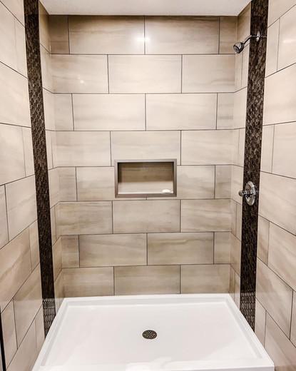 Custom shower on Point!