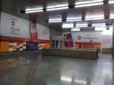 Adesivação de Parede Estação Metrô