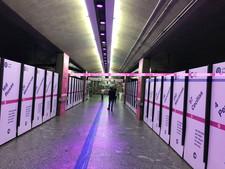 Adesivação de Estação Metrô