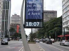 MUB - Relógio de Rua