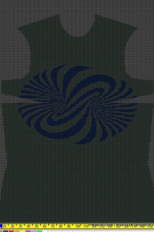 Рисунок для программы KnittStyler
