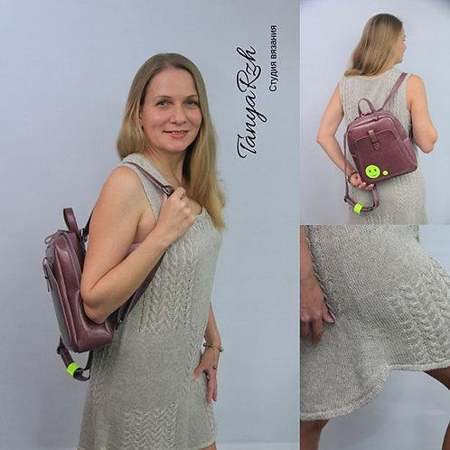 Летнее пляжное платье 46 размера