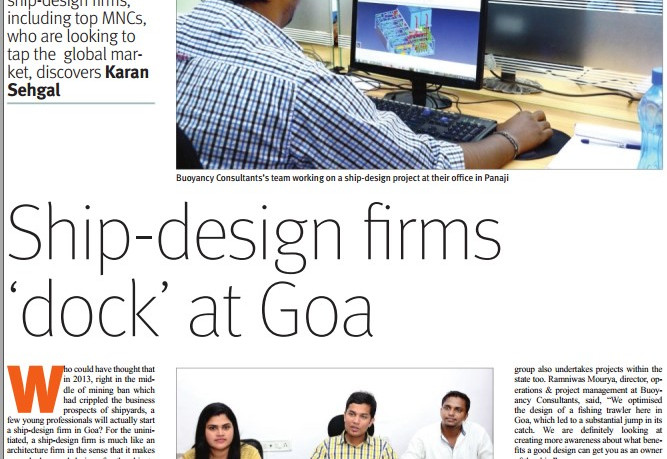 Ship-design firms dock at Goa - The Goan