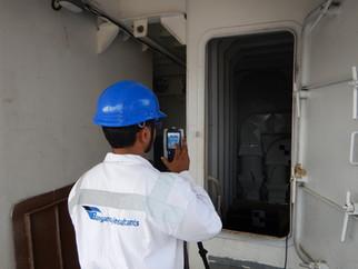 Laser Scanning on site
