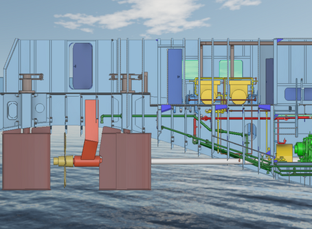 Detail design project using Nupas-Cadmatic