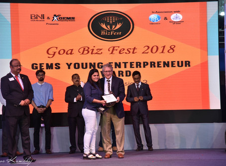 Bagged the prestigious 'Prashant Shinde ' Award for Employment Generation'