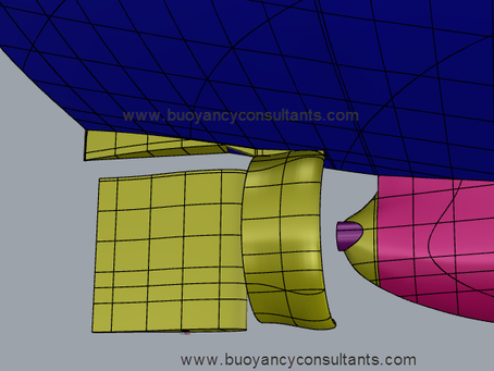 Completed a critical stern tube, rudder & kort nozzle integration project.