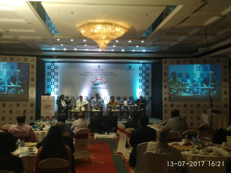 """Participated at Workshop on """"Sagarmala Implementation"""" Hosted by ICC"""